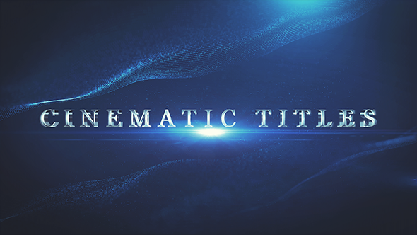 Download Cinematic Trailer Titles nulled download