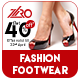 Spring Fashion Footwear Sale  Ad Banners