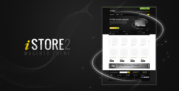 iStore2 Magento Theme - ThemeForest Item for Sale