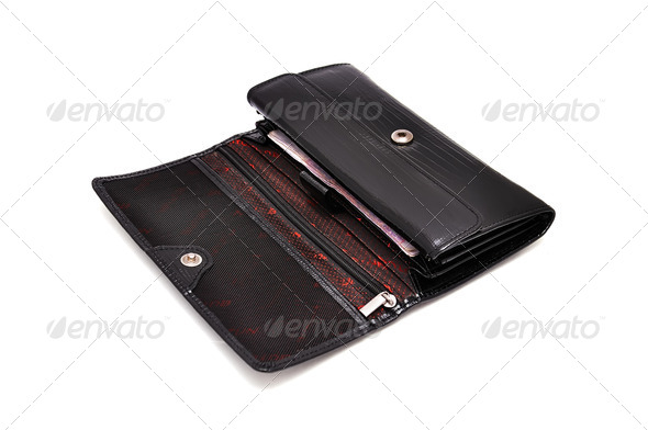 Leather Wallet - Stock Photo - Images