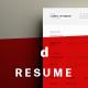 A4 Minimalist Resume
