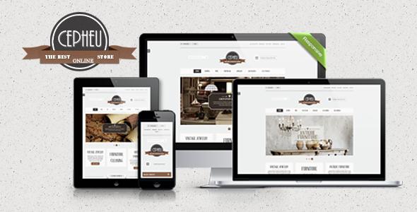 Cepheu - eCommerce Bootstrap Template