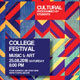 College Or Music Festival Flyer