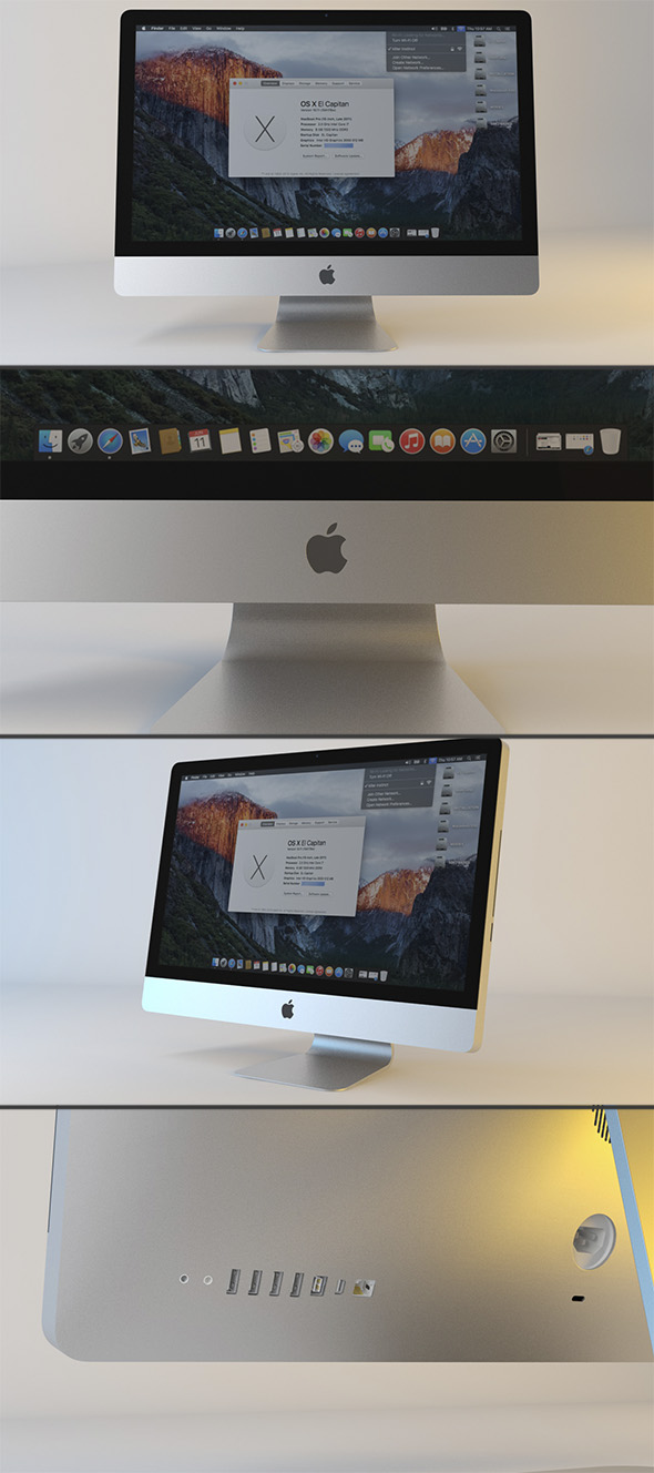 Apple iMac 27 - 3DOcean Item for Sale