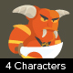 4 Game Demons Characters