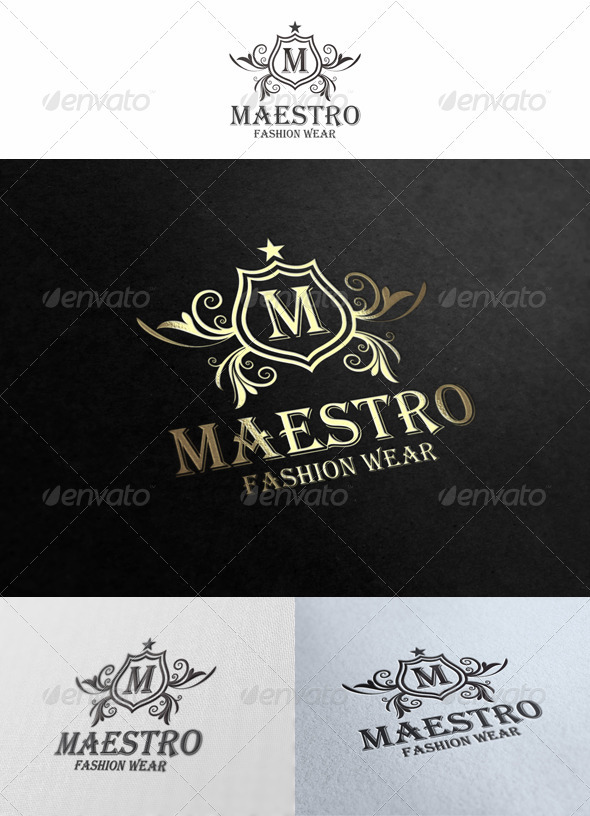 Maestro Logo Template - Crests Logo Templates