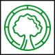 Tree Emblem Logo