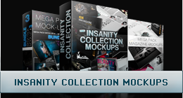Insanity Collection Mockups