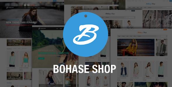 Bohase Fashion Store - Responsive Magento Theme