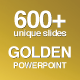 Golden PowerPoint Bundle