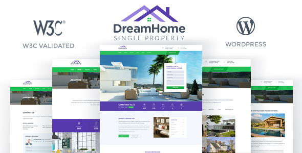 2 - DreamHome - Single Property WordPress Theme