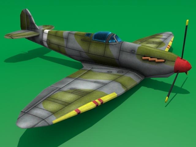 3DOcean Supermarine Spitfire 1564388