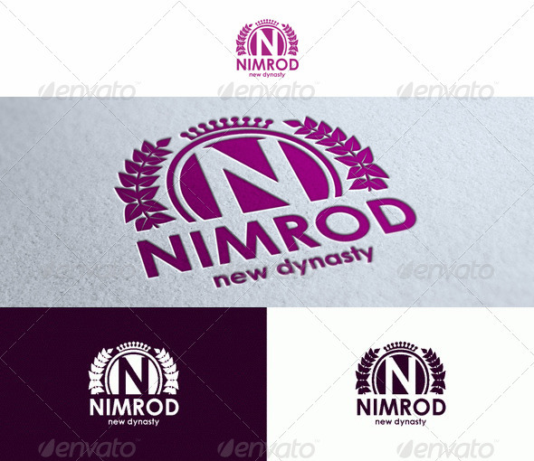 Nimrod - Logo Template - Crests Logo Templates
