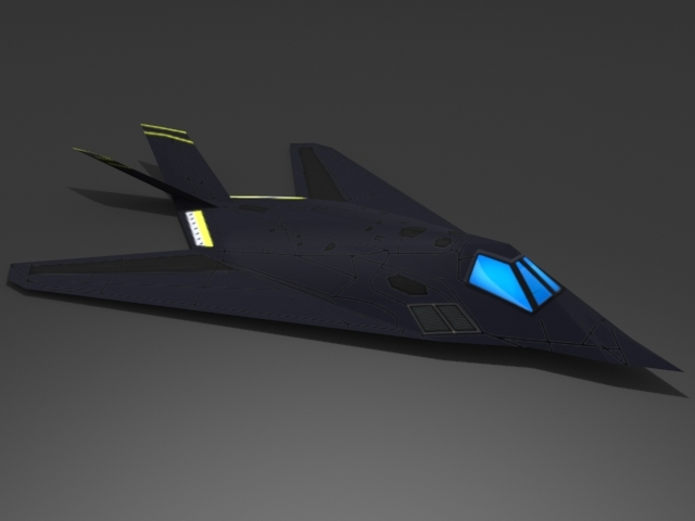 F-117 Stealth Fighter - 3DOcean Item for Sale