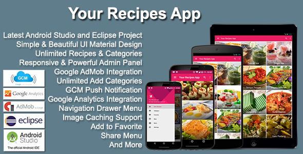 Your Recipes App