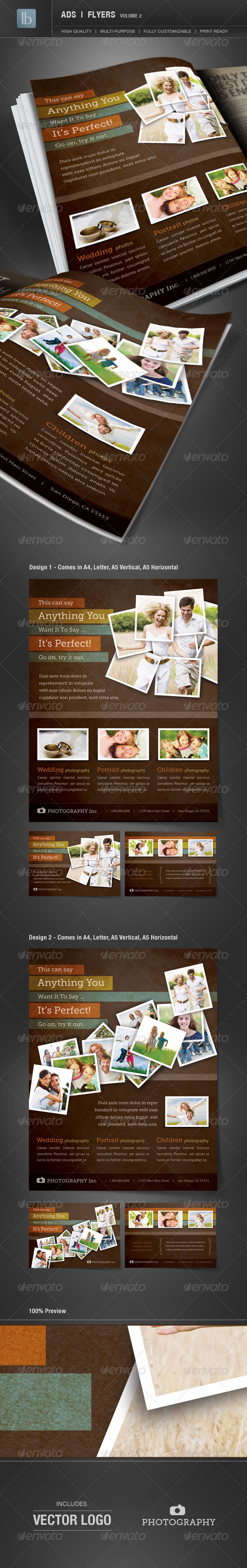 Ads | Business Flyers | Volume 2 - Corporate Flyers