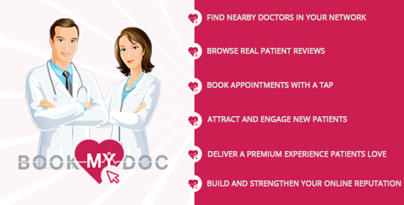 Book My Doc Mobile APP - CodeCanyon Item for Sale
