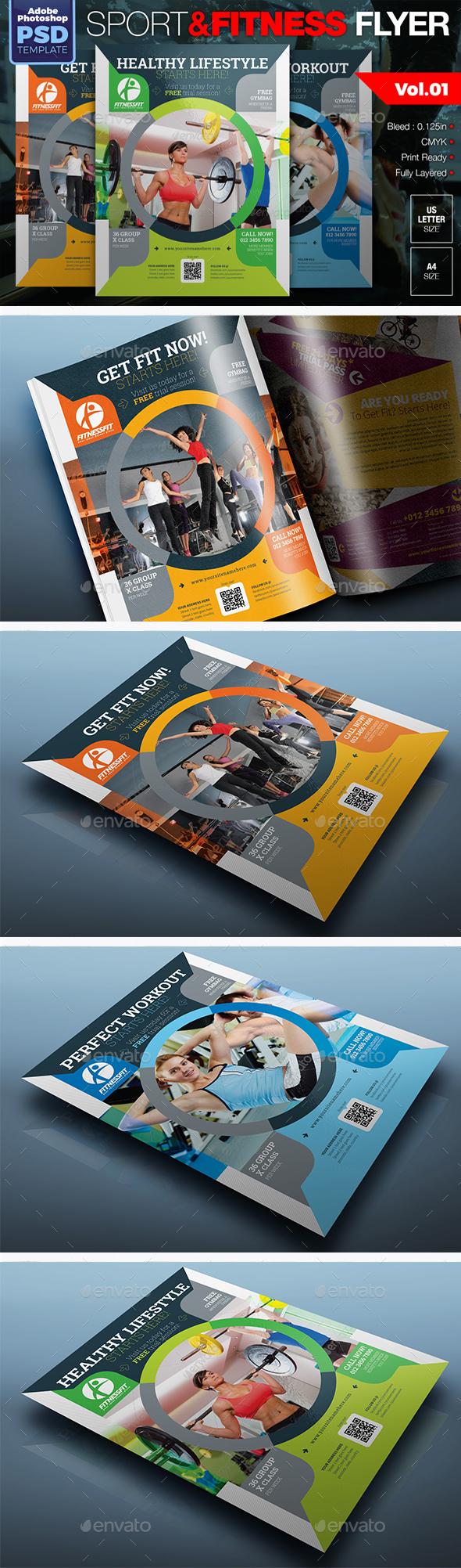 Sport & Fitness Flyer Vol.01