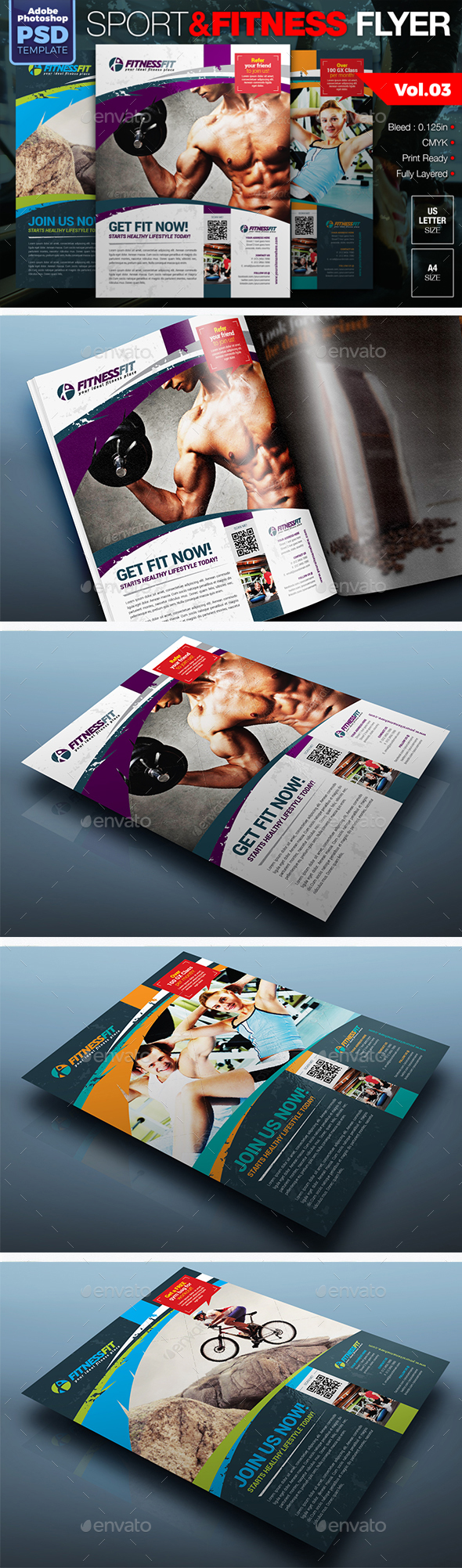 Sport & Fitness Flyer Vol.03