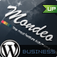 Mondeo Corporate & Portfolio WordPress Theme - ThemeForest Item for Sale