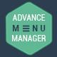Advance Menu Manager
