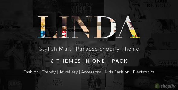 Download Shopify Multipurpose Theme - Linda nulled download