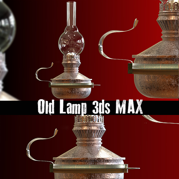 Old Lamp - 3DOcean Item for Sale