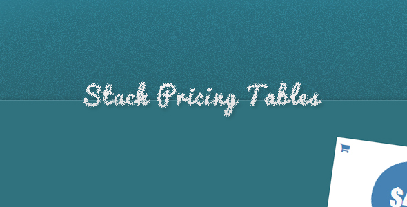 Stack Pricing Tables