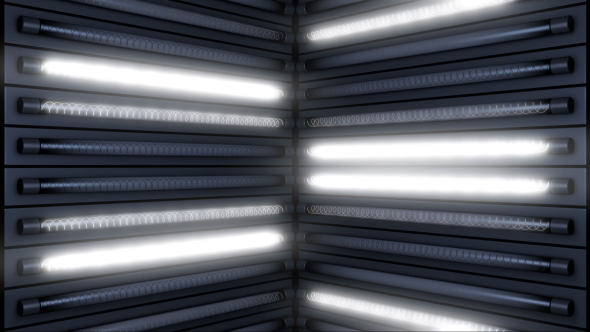 VideoHive White Light Flashing 15654798