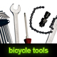 Set of 5 used bicycle tools