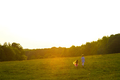 Beautiful summer evening.