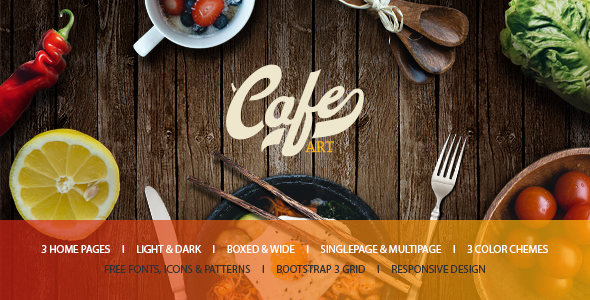 Cafe Art - Cafe & Restaurant WordPress Theme
