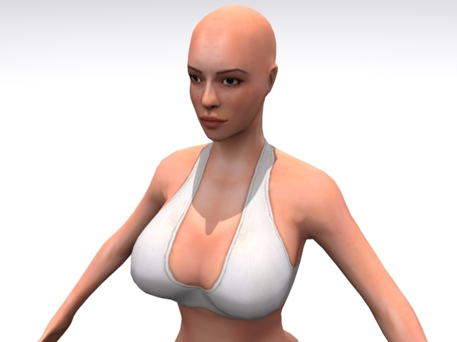 High Resolution Female - 3DOcean Item for Sale