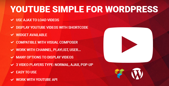 Download Youtube Simple for Visual Composer nulled download