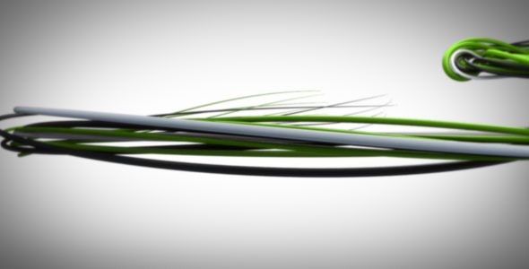 VideoHive Swirling Wires Logo Reveal 1566899