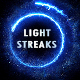 Energy Light Streaks With Particles