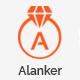 Alanker – HTML5 Mobile App Template