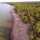 The White Shore of the Large Kuremaa Lake