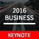 Business Plan 2016 Keynote Template