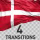 Denmark Flag Transitions