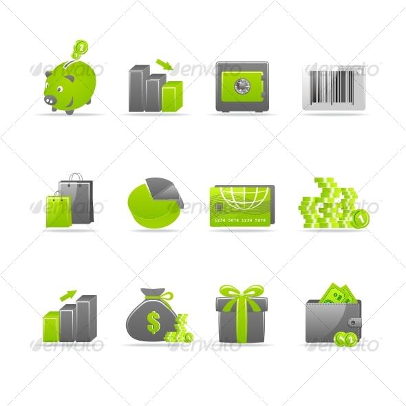 GraphicRiver Glossy icon set 4 61652