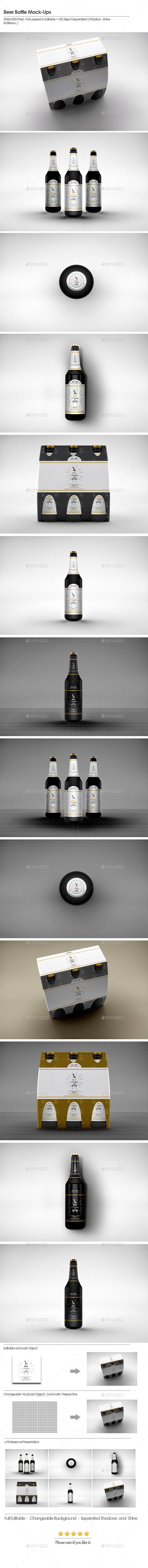 Beer Bottle Mock-Ups 2