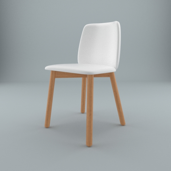 Blu Dot furniture Chip Leather Dining Chair by Vinrax