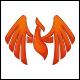 Phoenix Rise Logo Template