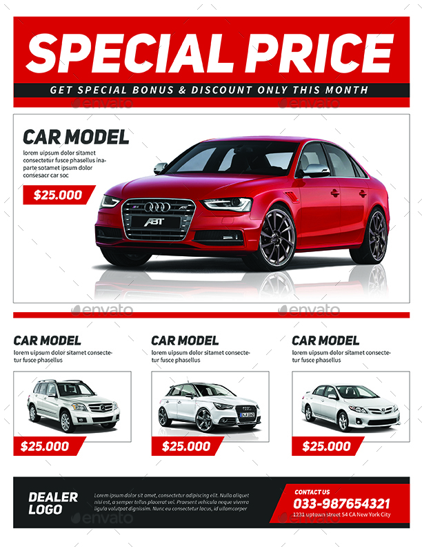 Car Sale Flyer by Guuver – Car Sale Flyer