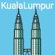 Line Flat Kuala Lumpur Banner