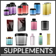 Complete Supplements 3d Models Pack