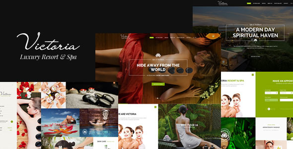 Victoria - Luxury Resort & Spa WordPress Theme