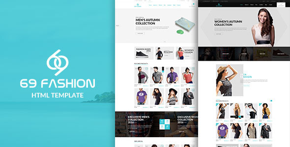 69 fashion - eCommerce Responsive Bootstrap Template
