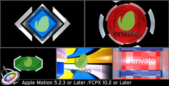 Download Broadcast Logo Transition Pack V3 - Apple Motion nulled download